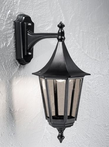 Franklite LA1606-1 Black Wall Light